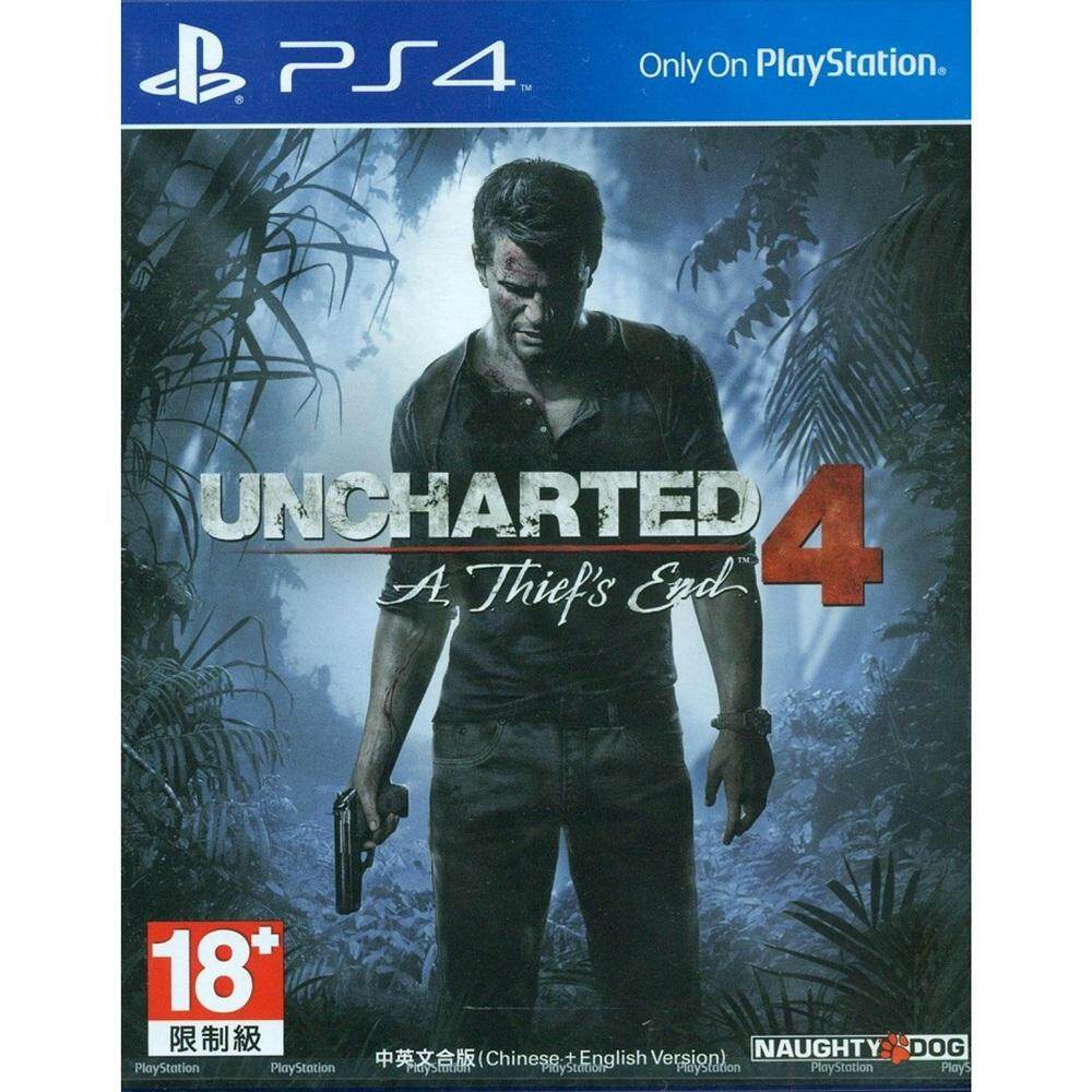 PS4 : Uncharted 4 - A Thief's End [Asia]