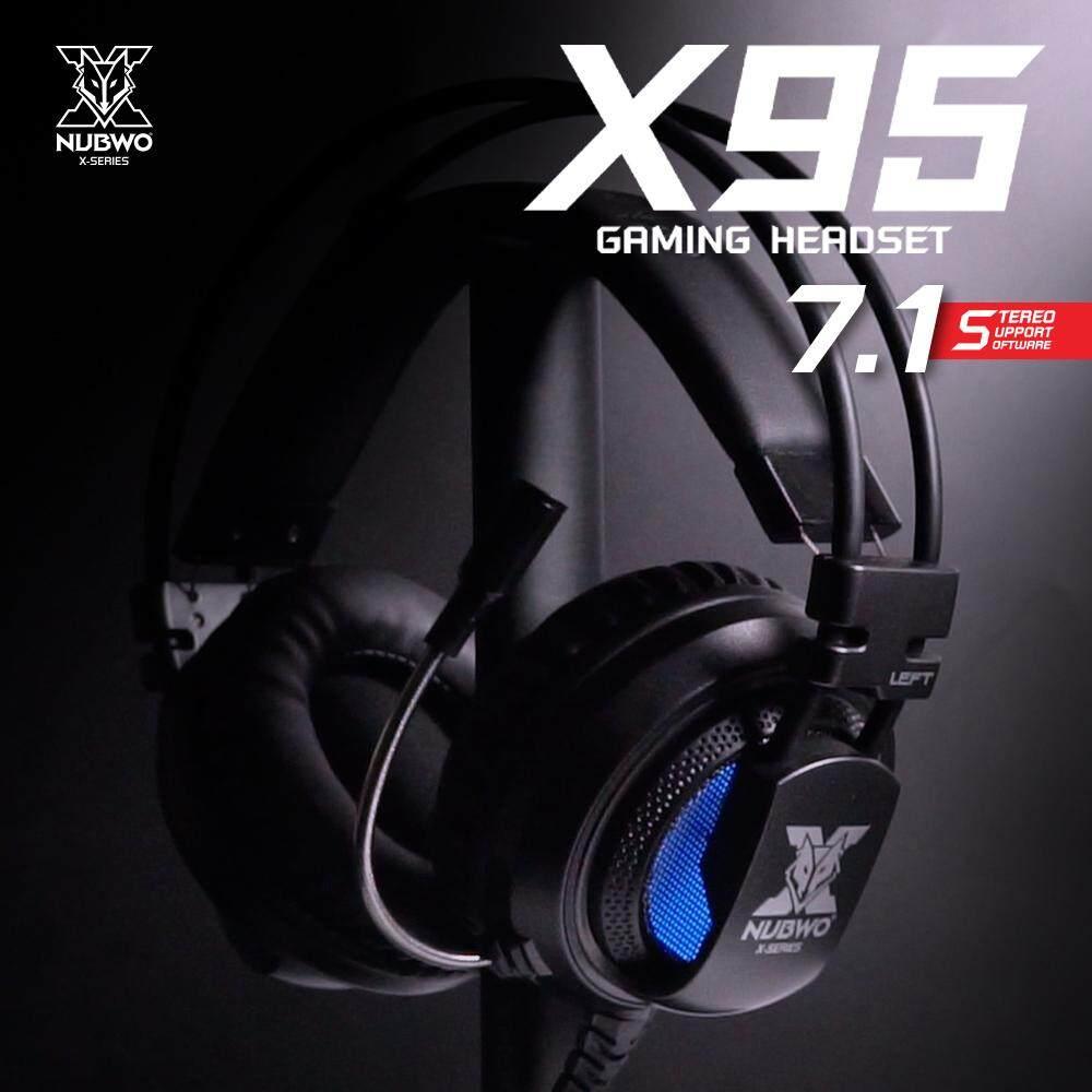Nubwo Headshet Stereo No040 X95 71 Virtual Surround Gaming Headset Usb
