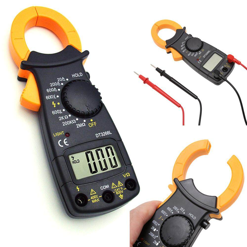 Telecorsa ดิจิตอลแคลมป์มิเตอร์ แคลมป์มิเตอร์  Digital Clamp Meter รุ่น Digitalclampmeter53a-Rat1.