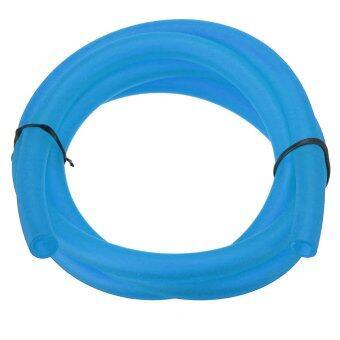 Universal Motorcycle Bike 1M Petrol Fuel Hose Gas Oil Pipe Tube 5mm I/D 8mm O/D Blue - Intl