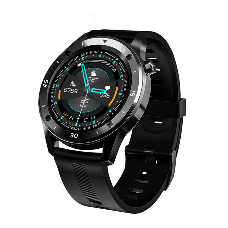 [มีของพร้อมส่ง] สมาร์ทวอทช์ huawei ใช้ได้ รองรับภาษาไทย xiaomi ใช้ได้ Smart Watch นาฬิกาสมาทวอช ภาษาไทย วัดชีพจร ความดัน นับก้าว เตือนสายเรียกเข้า