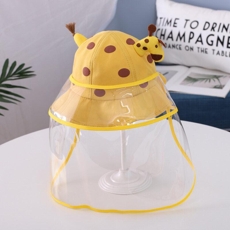 หมวกเด็ก ป้องกันเชื้อ โรค ฝุ่น มีสายรัดกันหลุด สินค้าอยู่ไทย แพ็คสินค้าด้วยกล่องอย่างดี