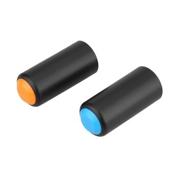 2 Colors Battery Screw On Cap Cup Cover for Shure PGX WirelessHandheld Mic Microphone - intl