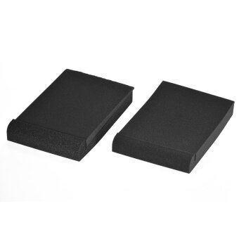 2 Pack Studio Monitor Speaker Isolation Acoustic Foam Pads Max. 9.6 * 7.7 Usable Area - intl