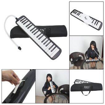37 คีย์เปียโน Melodica Pianica เครื่องดนตรีกับกระเป๋าถือสำหรับผู้เริ่มต้นเด็กนักเรียน