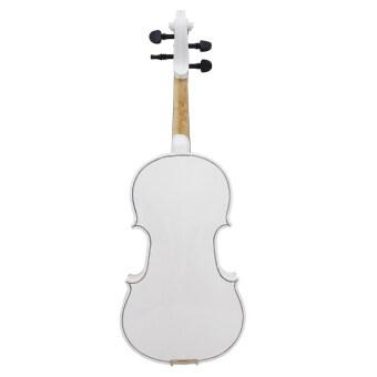 4/4ไวโอลินซอสตริงเบสวู้ดซุ้มโค้งโลหะเครื่องดนตรีสำหรับคนรักดนตรีผู้เริ่มต้น - 5