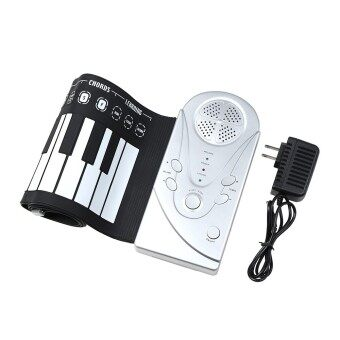 49 Keys Portable Flexible Roll Up Piano Electronic Silicone Rubber Soft Keyboard Piano Mini Musical Instrument
