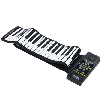 88 Key Electronic Piano Electronic Keyboard Silicon Flexible Roll Up Piano with Loud Speaker (Intl)