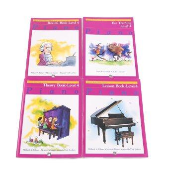 Alfred's Basic Piano Library Level 4 Set