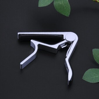Alloy Tune Clamp Key Trigger Capo for Acoustic ElectricGuitar(Silver) - intl - 4