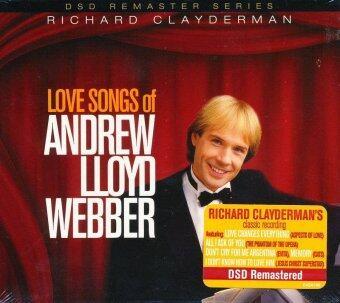 AmornMovie CD Richard Clayderman: Love Songs Of Andrew Lloyd Webber ...