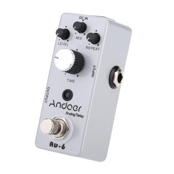 Andoer TC-31 AD-6 Analog Delay Guitar Effect Pedal True Bypass ^ - intl