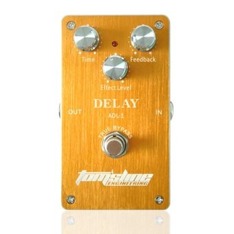 Aroma ADL-1 Delay Electric Guitar Effect Pedal Aluminum Alloy Housing True Bypass - intl