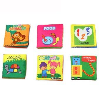 Baby Soft Squeaky Cloth Book (Character)