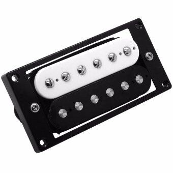 Belcat Open Hum Guitar Pickup (Bridge Position, Alnico, สีขาว/ดำ)รุ่น BH-23A-B-Z