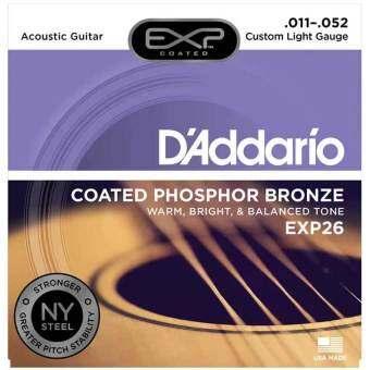 D'Addario สายกีตาร์โปร่ง EXP26