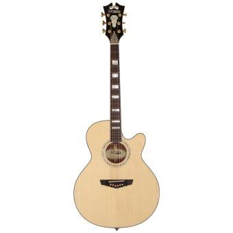D'Angelico Guitar กีต้าร์โปร่งไฟฟ้า รุ่น MERCER SG-100(Natural-clear coat)