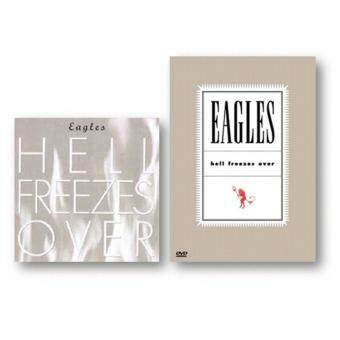 Harga DVD + CD The Eagles Hell Freezes Over