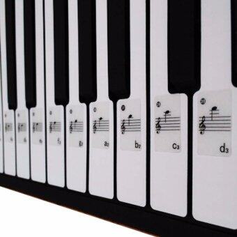 Fancyqube 49 61 88 Key Electronic Keyboard Piano Numbered NotationNote Sticker-intl - intl