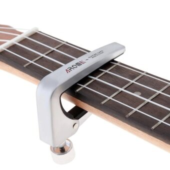 Force Adjustable Zinc Alloy Guitar Capo with Perfect SiliconCushion - intl