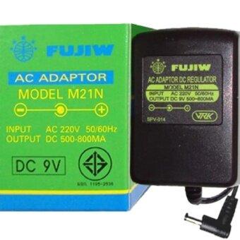 อเดปเตอร์ FUJIW รุ่น M21N เป็นอแดปเตอร์จ่ายไฟ 9V ที่มีวงจรรักษาระดับแรงดัน (เร็กกูเลเตอร์) ช่วยทำให้กระแสไฟเรียบ ช่วยลดสัญญาณรบกวน ได้เป็นอย่างดี เหมาะสำหรับเอฟเฟคกีตาร์โดยเฉพาะ
