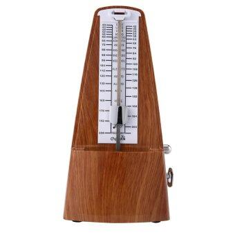 Harga leegoal Classic Mechanical Metronome Wood Grain Metronome For Piano/Guitar/Violin And Other Instruments,Walnut Color - intl