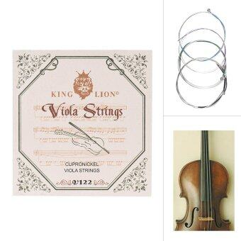 "Harga Full Set Viola String Set Replacement for 15""-16"" Viola 4pcs C G D & A Medium Tension Cupronickel - intl"