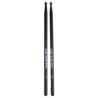 Harga New Black Maple Wood Drum Sticks 5A Wood Tip Drumsticks 1 Pair