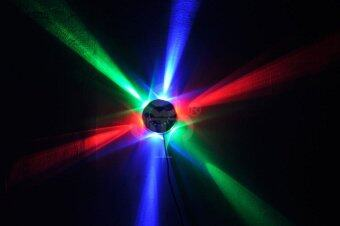 LED RGB Crystal Magic Ball Stage Lighting Light For Disco Dj Bar orParty - intl