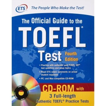 Harga หนังสือ MCGRAW-HILL' S OFFICIAL GUIDE TO THE TOEFL TEST WITH CD-ROM(4TH ED.) (IE VERSION)