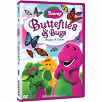 Media Play Butterflies & Bugs (Barney) ผีเสื้อและแมลง DVD