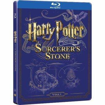 Media Play Harry Potter and the Sorcerer's Stone (BD+DVD)/แฮร์รี่พอตเตอร์ กับศิลาอาถรรพ์ Blu-Ray Steelbook