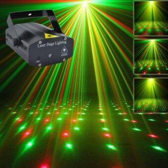 Mini LED Laser Pointer Disco Karaoke Stage Light Party PatternLighting Projector Show Laser Projector Lights Home Party ChristmasLight (EU plug) - intl