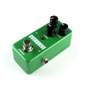 Mini Vintage Overdrive Guitar Effect Pedal Overload Guitar StompboxFOD3