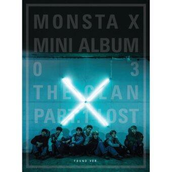 MONSTA X - The CLAN 2.5 Part.1 LOST [FOUND ver.]CD+Booklet+Photocard+Free Gift