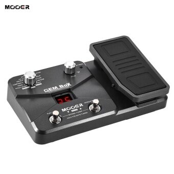 MOOER GEM BoX Guitar Multi-effects Processor Effect Pedal Supports Tuning Function With Expression Pedal Storing Mode - intl