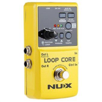 NUX Loop Core Guitar Effect Pedal True Bypass Design with Aluminum Alloy Housing Built-in Drum Pattern - 2