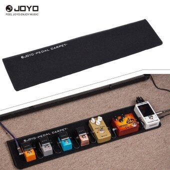 PC-B Portable Soft Guitar Effect Pedal Board Carpet Pedalboard with 2pcs Hook Fasteners Outdoorfree - intl