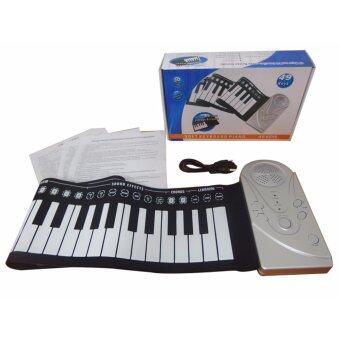 Piano เปียโนดิจิตอล เปียโนพกพา เปียโนไฟฟ้า พับได้ คีย์บอร์ดคีร์บอร์ด 49key