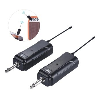 Portable Wireless Audio Transmitter Receiver System for Electric Guitar Bass Electric Violin Musical Instrument ^ - intl