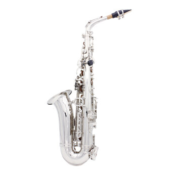 Saxophone Sax Eb Be Alto E Flat Brass Carved Pattern on Surface Plastic Mouthpiece Exquisite with