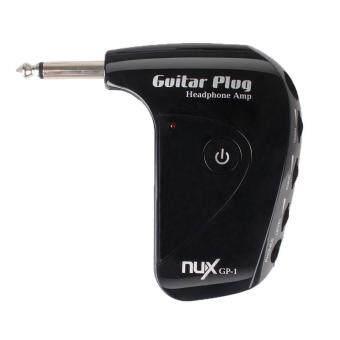 SOBUY NUX GP-1 Classic AUX Jack Rock Guitar Plug Headphone Amp(Black)