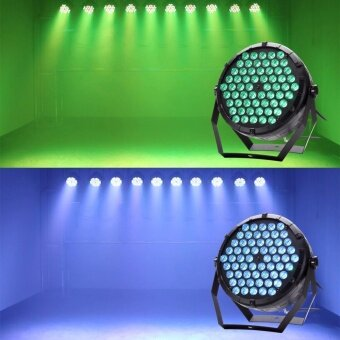U`King 80W Par Light Stage Light RGB 3in1 60 LED Stage Effect Lighting for Party Disco Club Bar Wedding Show Pub Band - intl