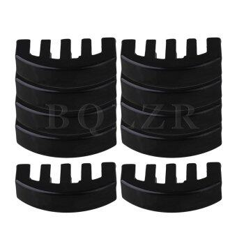 Violin Rubber Practice Mute Set of 10 Black