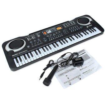 WinTop 61 คีย์ดนตรีอิเล็กทรอนิกส์บอร์ดแป้นคีย์บอร์ดเปียโนออร์แกนไฟฟ้าเด็ก