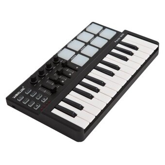 Worlde Panda mini Portable Mini 25-Key USB Keyboard and Drum Pad MIDI Controller - intl
