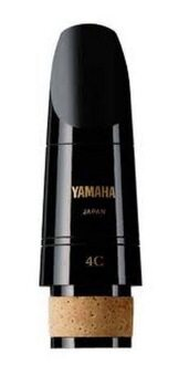 Yamaha ปากเป่าคลาริเน็ต รุ่น CL-4C - สีดำ