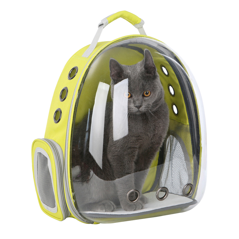 Pet Space Bag กระเป๋าใส่สัตว์เลี้ยงทรงอวกาศ กระเป๋าใส่แมวและหมาแบบสะพายหลัง มี7สี #C07