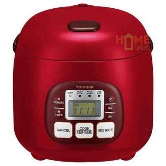หม้อหุงข้าวดิจิตอล 0.54 ลิตร สีแดง รุ่น TOSHIBA RC5MM(R)A (Red)