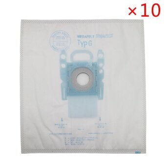 10 pack vacuum cleaner dust bag replacement for Genuine BoschMicrofibre Type G GXXL GXL MegaAir SuperTex BBZ41FGXXL Nonoriginal- intl